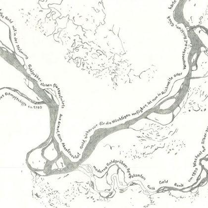 flussaufwärts Detail